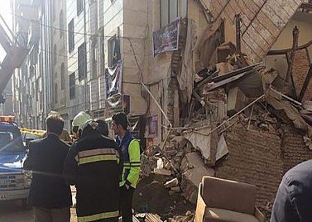 علت ریزش ناگهانی ساختمانی در کوی سهند تبریز چه بود؟