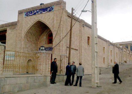 طرح توسعه محوطه مسجد جامع هشترود هفته دولت بهرهبرداری میشود