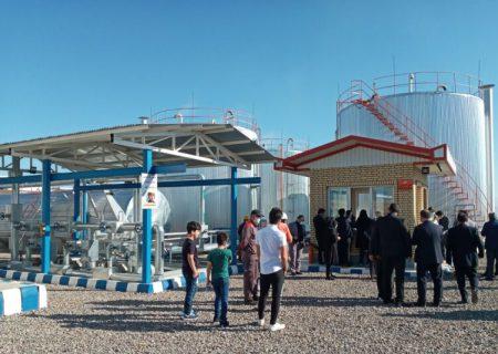 پالایشگاه تقطیر منطقه آزاد ارس به هبره برداری رسید/ ایجاد اشتغال برای ۱۳۰نفر