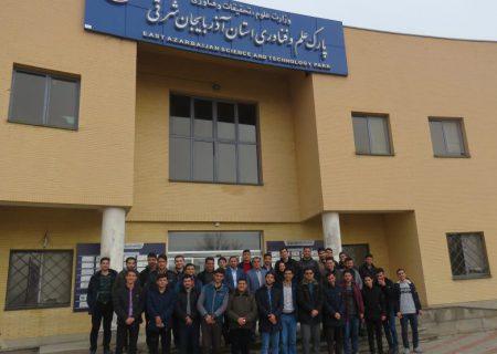 پارک علم و فناوری آذربایجانشرقی، پیشران جهش تولید
