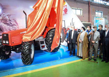 افتتاح خط تولید تراکتورهای جدید در شرکت تراکتورسازی ایران