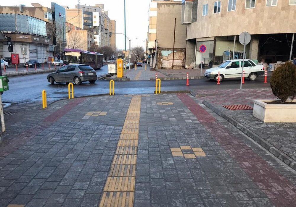 شش هزار متر مربع کف سازی معابر برای اجرای پروژه های انسان محور در منطقه یک
