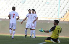 پیروزی بی دردسر تیم ملی مقابل سوریه