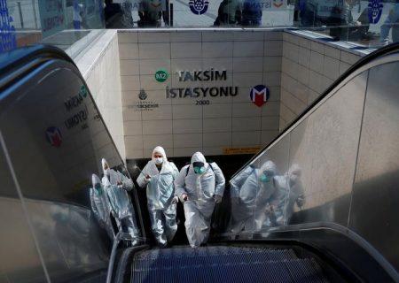 کرونا ترکیه را تعطیل کرد