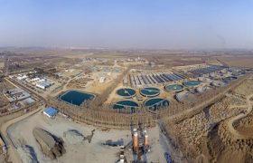 تصفیهخانه فاضلاب شهرک صنعتی عالینسب تبریز ۷۵درصد پیشرفت دارد