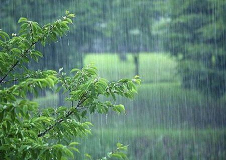 رگبار باران، رعد و برق و کاهش محسوس دما در آذربایجان شرقی