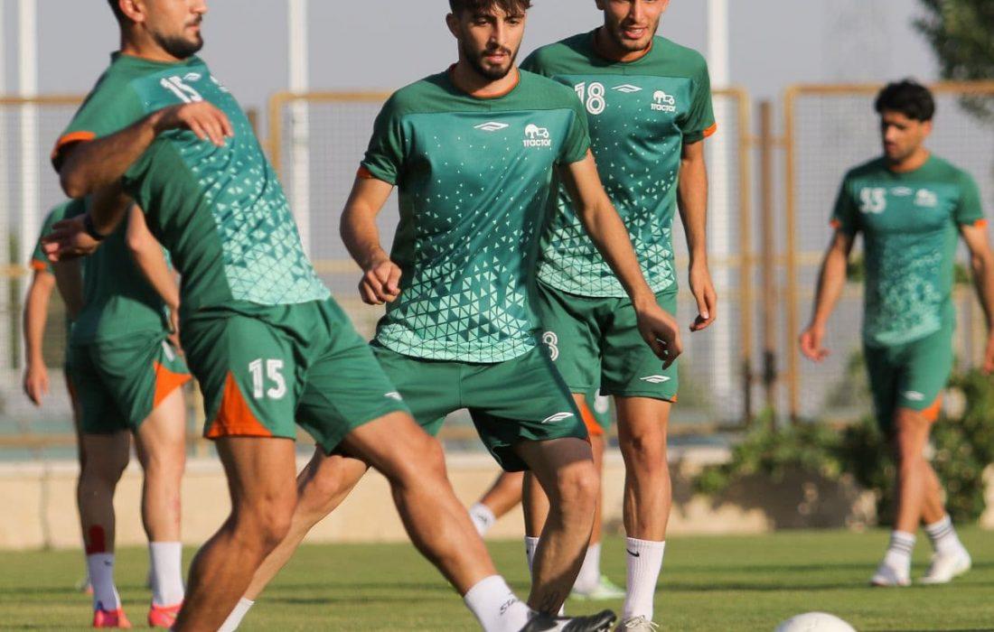 اولین تمرین تراکتور در تهران برای سوپر جام