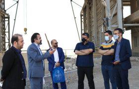 بازدید اصحاب رسانه از کارخانه سیمان صوفیان